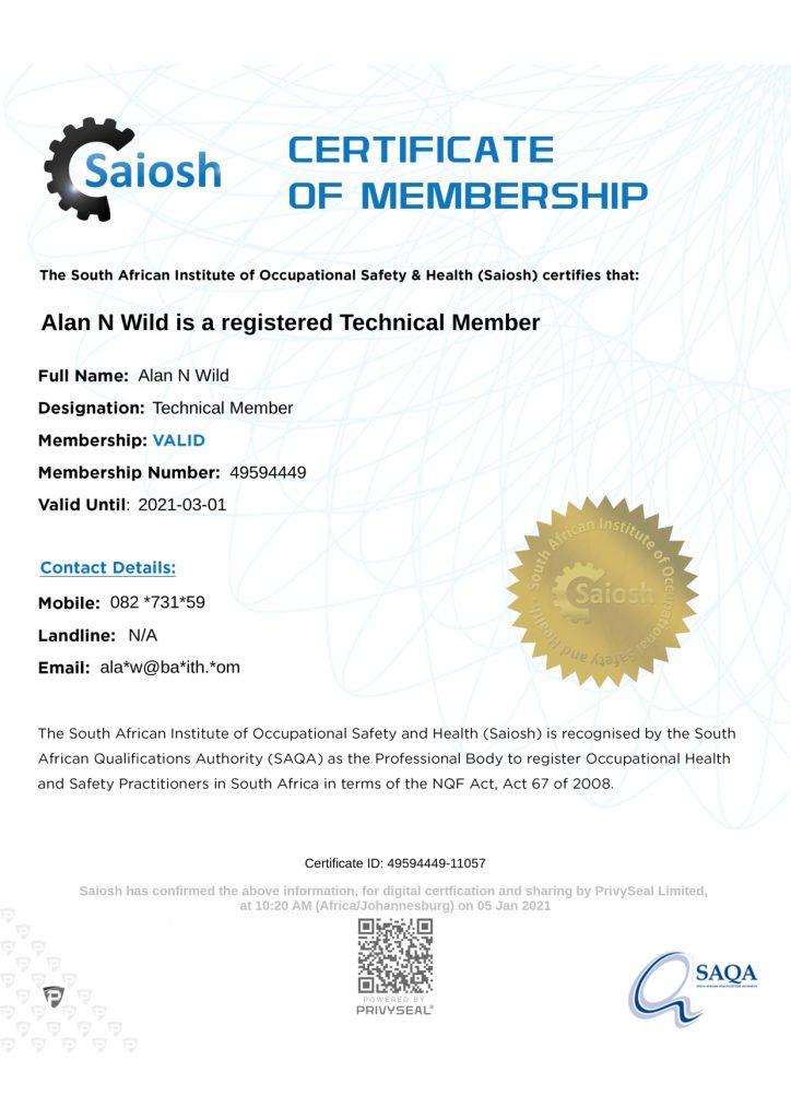 TechSAIOSH Member